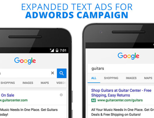 Expanded Text Ads for Adwords Campaign